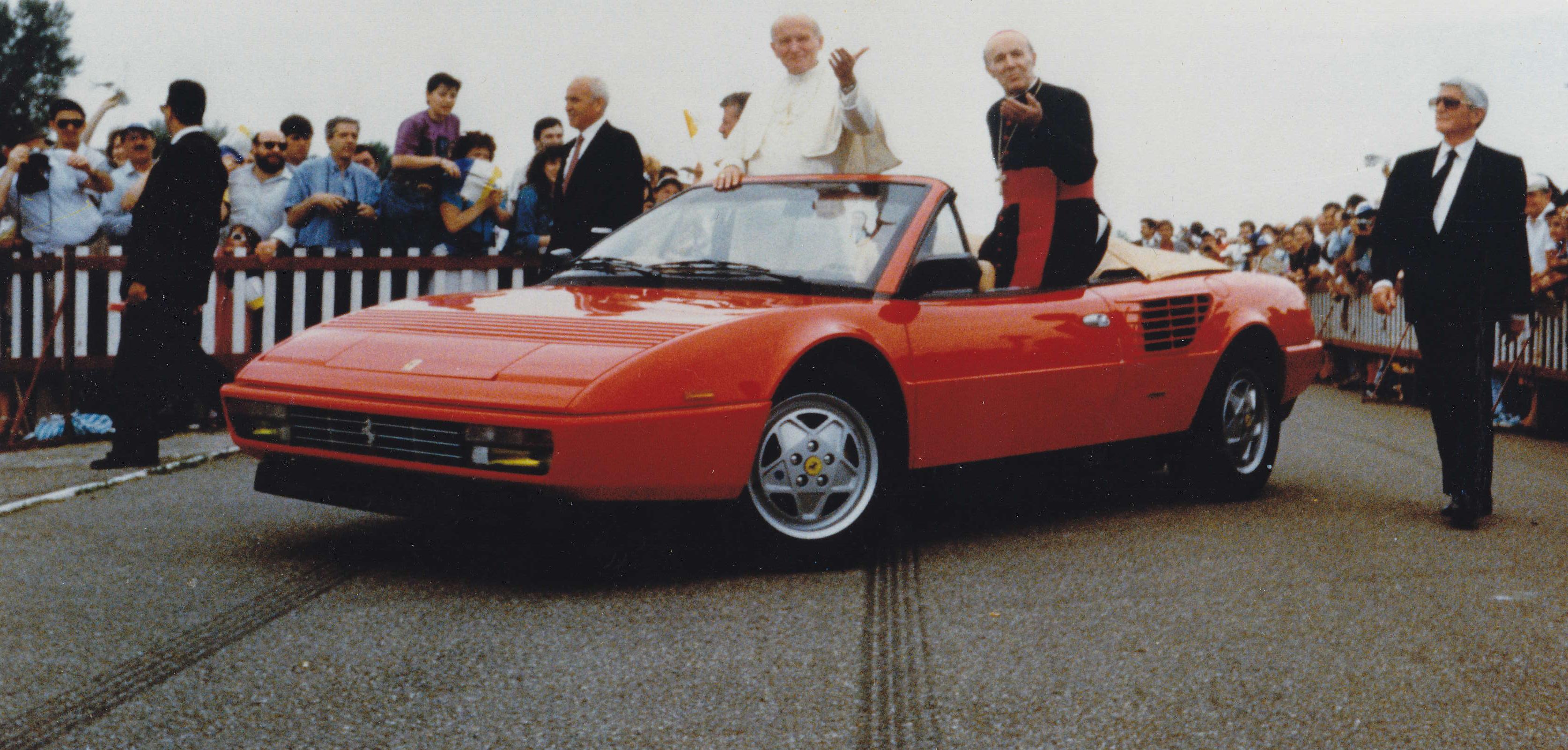 Pope John Paul Ferrari Mondial T