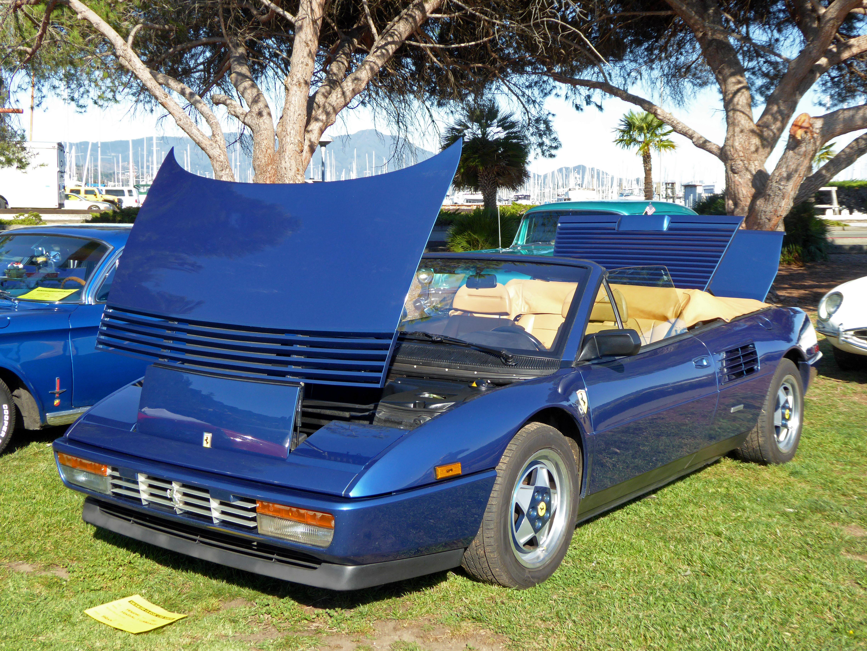 1991 ferrari mondial t cabriolet a long term user s perspective ferrari mondial t. Black Bedroom Furniture Sets. Home Design Ideas