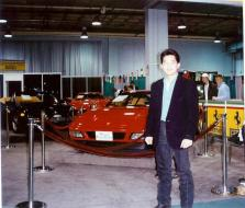Washington DC Auto show back in late 80s - early 90s.